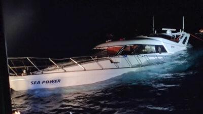 Επιχείρηση έρευνας και διάσωσης ανοιχτά της Χάλκης απο το Λιμενικό Σώμα - 26/8/2020