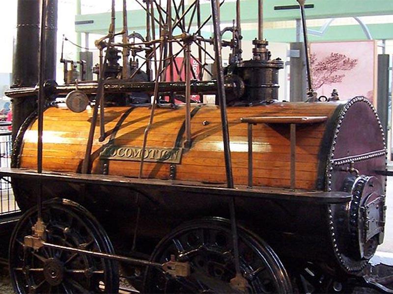 Η ατμομηχανή των Τζορτζ και Ρόμπερτ Στέφενσον