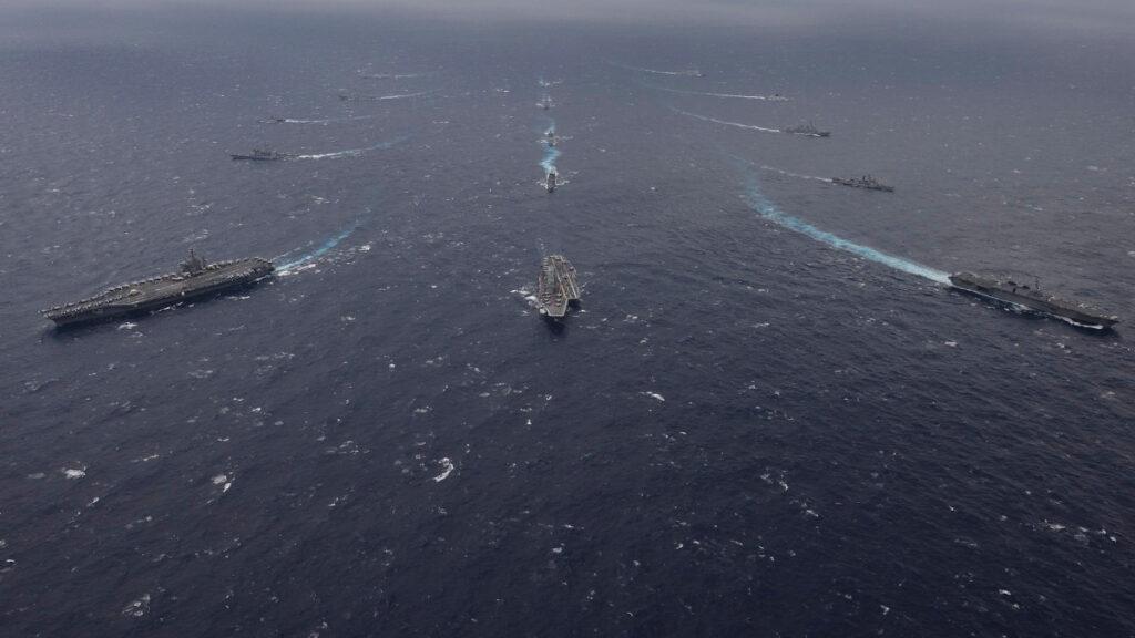 """Άσκηση """"MALABAR"""" 2018 με τη συμμετοχή των Πολεμικών Ναυτικών Ινδίας - ΗΠΑ- Ιαπωνίας"""