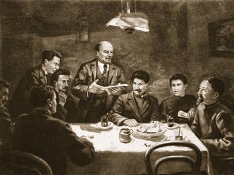 Συνεδρίαση της ΚΕ του Κόμματος των Μπολσεβίκων