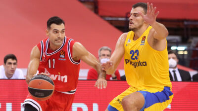 Ολυμπιακός Μακάμπι Euroleague Μπάσκετ Σλούκας