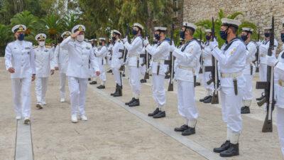 Λιμενικοί - Η τελετή ορκωμοσίας είκοσι πέντε (25) Δοκίμων Σημαιοφόρων Λιμενικού Σώματος – Ελληνικής Ακτοφυλακής στις εγκαταστάσεις της ΣΝΔ