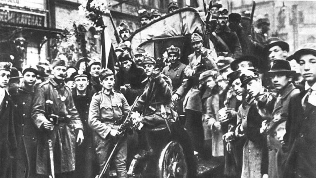 Από την εξέγερση στη Βουδαπέστη το 1918