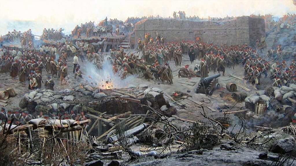 Η πολιορκία της Σεβαστούπολης κατά την διάρκεια του Κριμαϊκού πολέμου