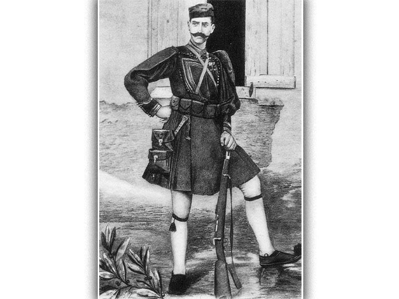 Ο Παύλος Μελάς
