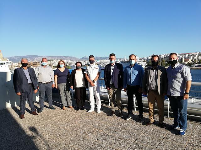 Πανελλήνια Ομοσπονδία Λιμενικών (Π.Ο.Λ.) - Συνάντηση με τον Αρχηγό του Λ.Σ-ΕΛ.ΑΚΤ - 2/10/2020 / Πηγή: ΠΟΛ