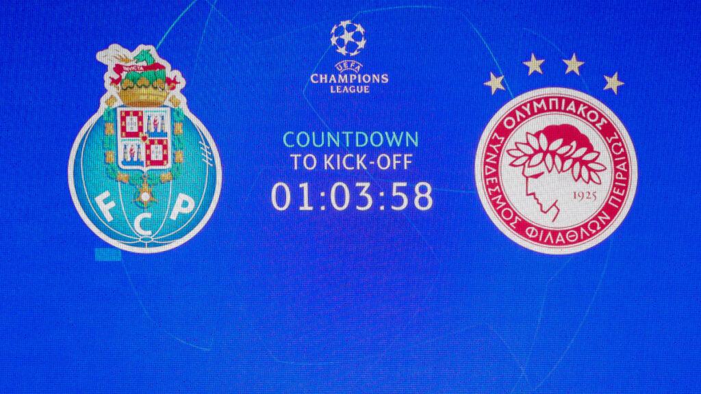 CHAMPIONS LEAGUE / Πόρτο - Ολυμπιακός 2-0 / 27-10-2020