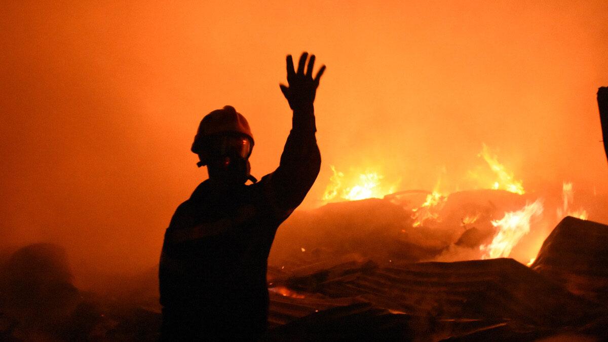 Πυροσβέστης - Πυρκαγιά στη Νέα Κίο Αργολίδας - 6/10/2020