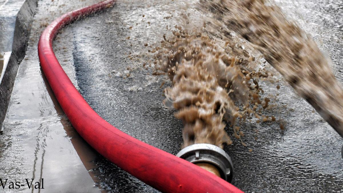 Πυροσβεστική - Απάντληση υδάτων