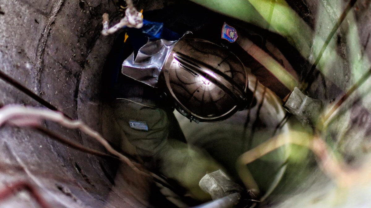 Επιχείρηση της Πυροσβεστικής σε φρεάτιο για τη διάσωση ζώου