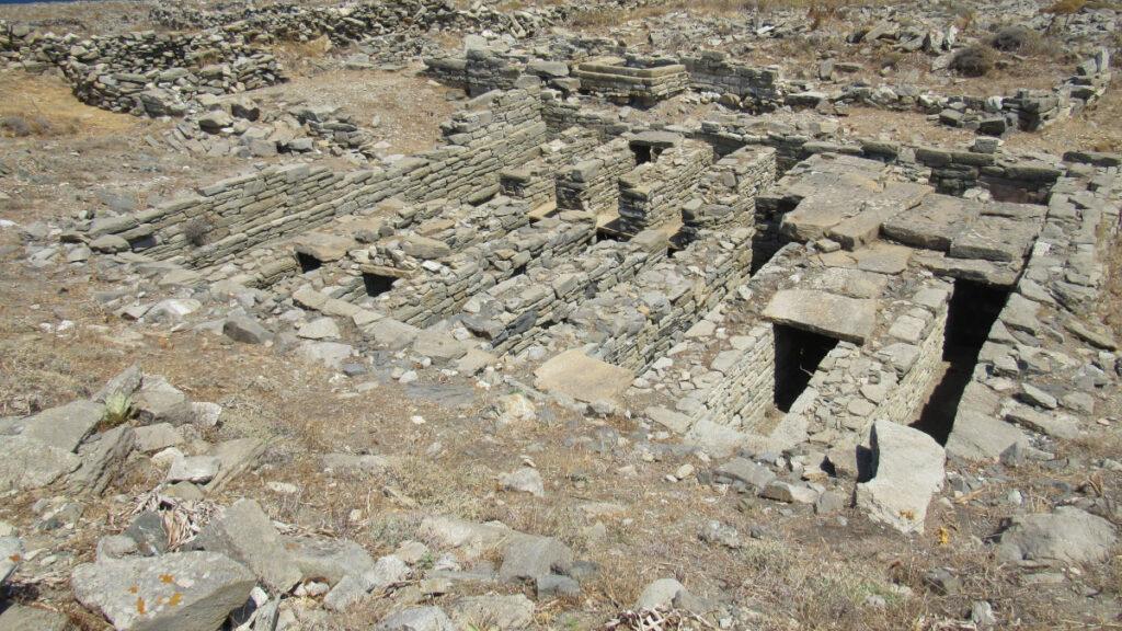 Αρχαιολογικά ευρήματα στη Ρήνεια των Κυκλάδων