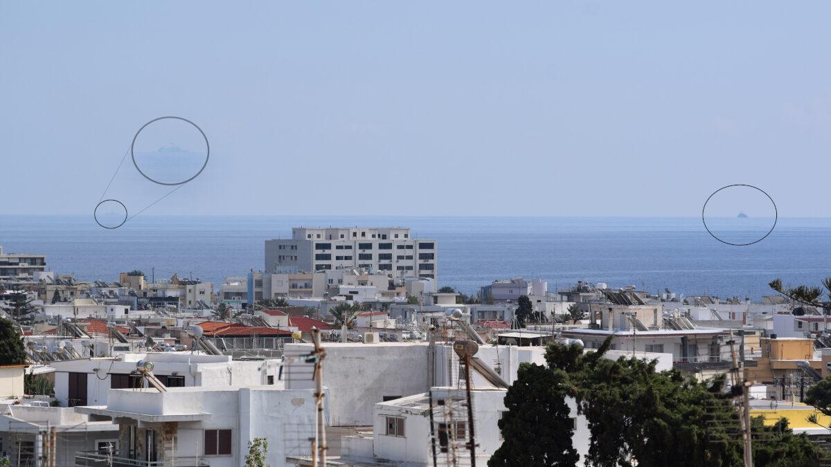 Δύο πολεμικά πλοία Ελλάδας και Τουρκίας στα ανοιχτά της Ρόδου