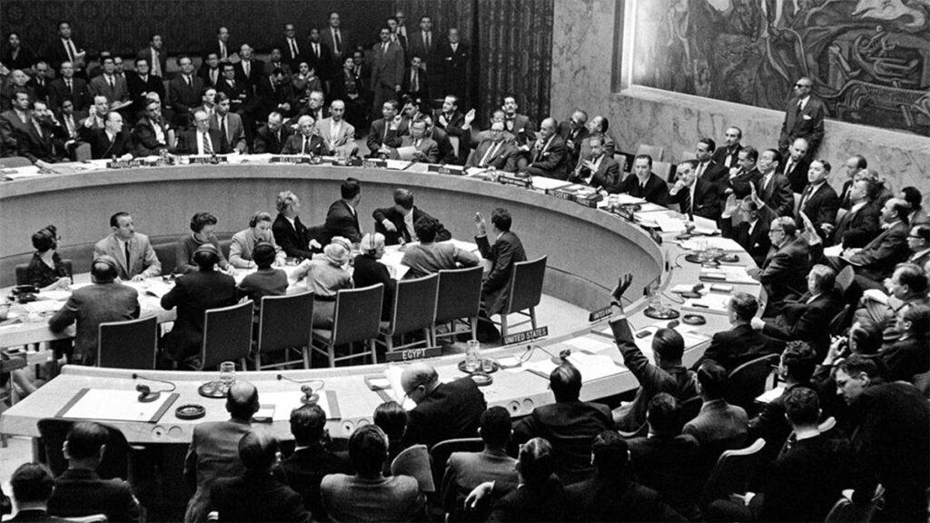 Το Συμβούλιο Ασφαλείας του ΟΗΕ