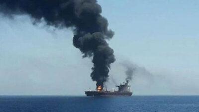 έκρηξη και πυρκαγιά σε ρωσικό πετρελαιοφόρο