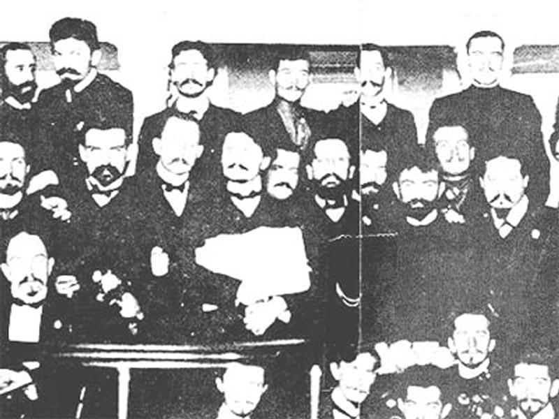 Εκπρόσωποι του πρώτου Σοβιέτ