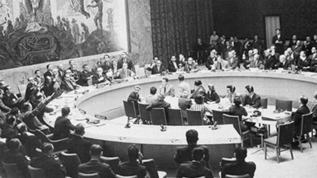 Ο ΟΗΕ καταδικάζει την επίθεση των Αγγλοαμερικανών και του Ισραήλ εναντίον της Αιγύπτου