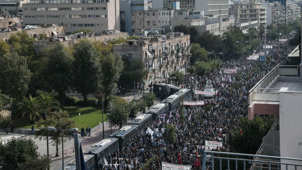 ΠΑΜΕ - ΚΚΕ - ΚΝΕ - Αντιφασιστική συγκέντρωση έξω από το Εφετείο της Αθήνας - Χρυσή Αυγή