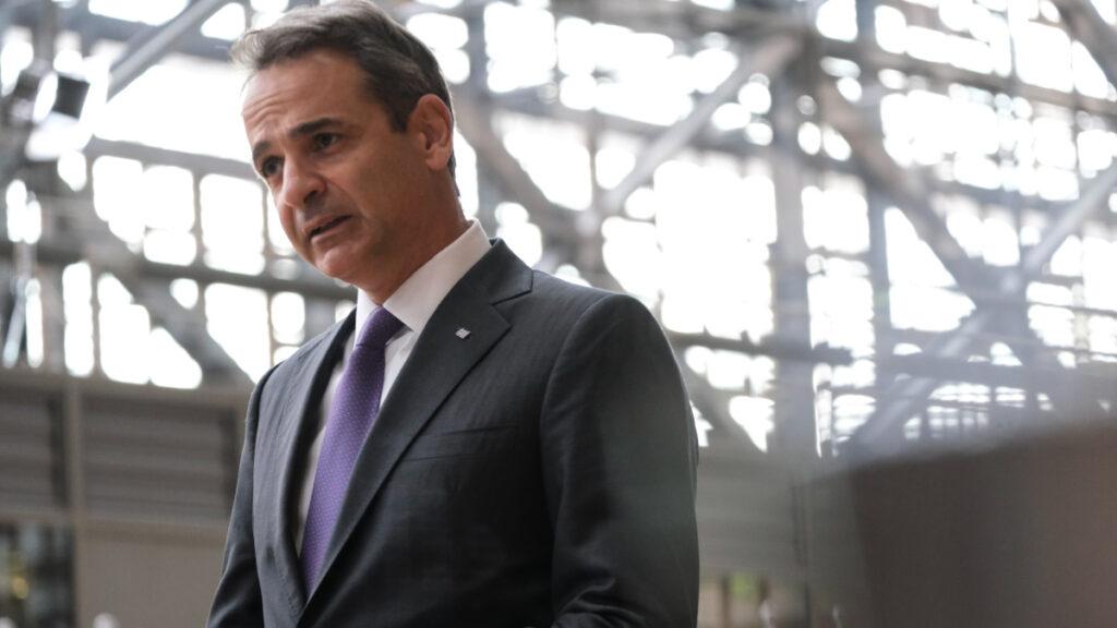 Κυριάκος Μητσοτάκης - Σύνοδος κορυφής των ηγετών των κρατών μελών της Ευρωπαϊκής Ένωσης την Πέμπτη 15 Οκτωβρίου 2020