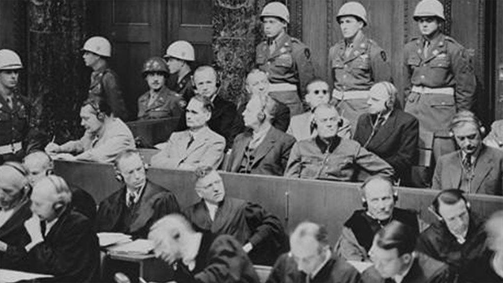 Εγκληματίες Ναζί στη δίκη της Νυρεμβέργης