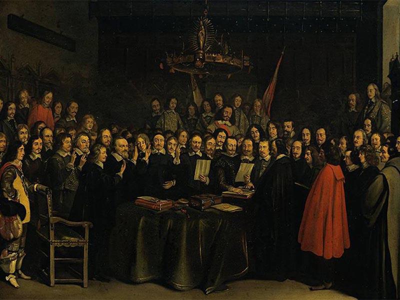 Η επικύρωση της Συνθήκης Βεστφαλίας