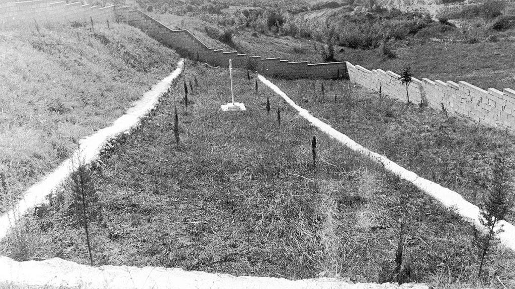 Ο τόπος εκτέλεσης των κατοίκων των Κερδυλλίων