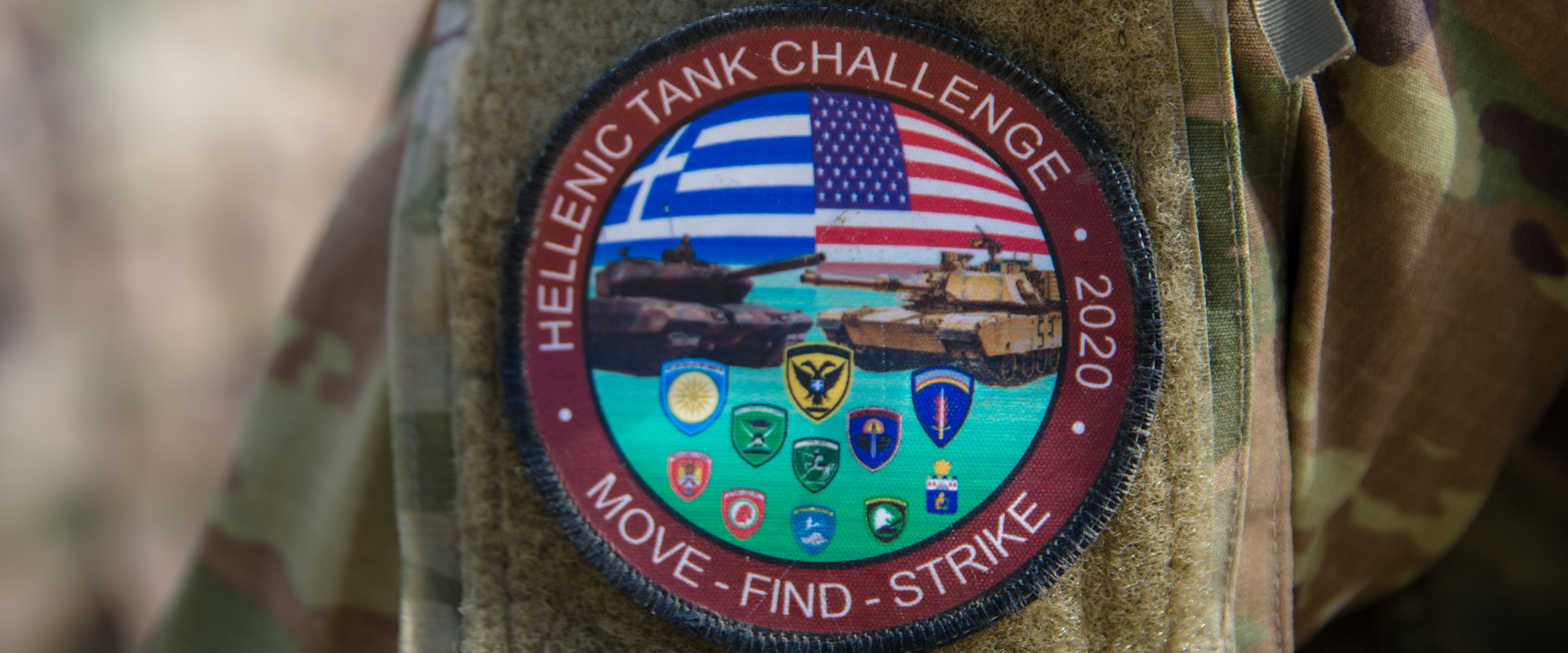 Συνεκπαίδευση με τις ΗΠΑ το Σεπτέμβρη 2020 Ουλαμών Αρμάτων των Μονάδων Τεθωρακισμένων που διαθέτουν άρματα LEO2 (A4 και HEL) στο Πεδίο Βολής Αρμάτων στο Πετροχώρι Ξάνθης