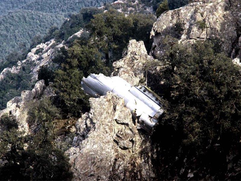Συντριβή αεροσκάφους στην Κορσική, 1981