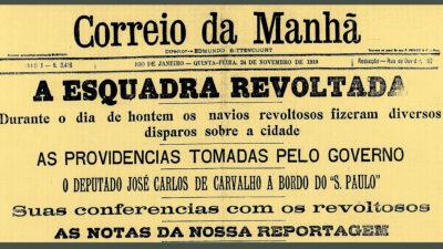 Βραζιλία - Νοέμβριος 1910 - Εξέγερση Chibata, στο Río de Janeiro