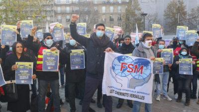 Παρίσι-Συγκέντρωση Αλληλεγγύης με τους Εργαζόμενους της Ελλάδας