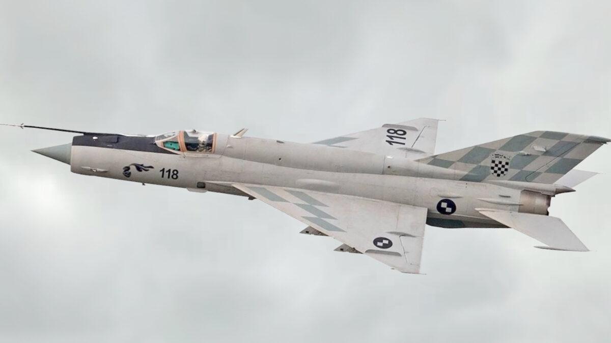 MiG-21BisD της Κροατικής Πολεμικής Αεροπορίας