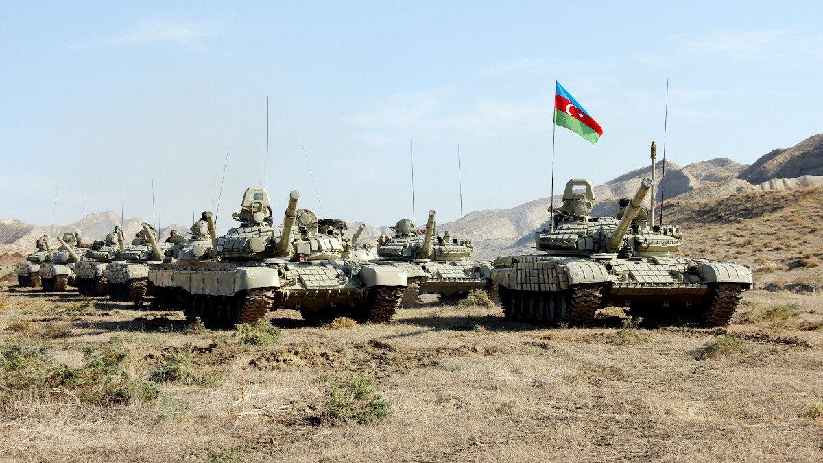 Αζέρικα στρατεύματα στην πόλη Σούσα