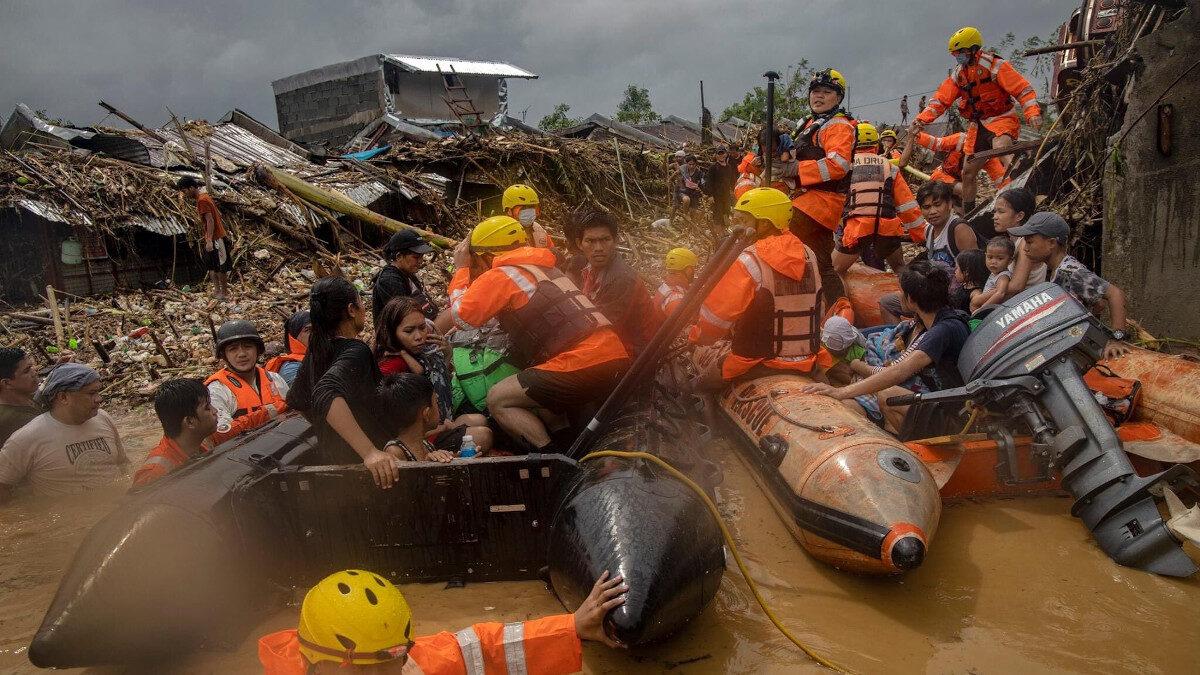 Τυφώνας Βάμκο στις Φιλιππίνες