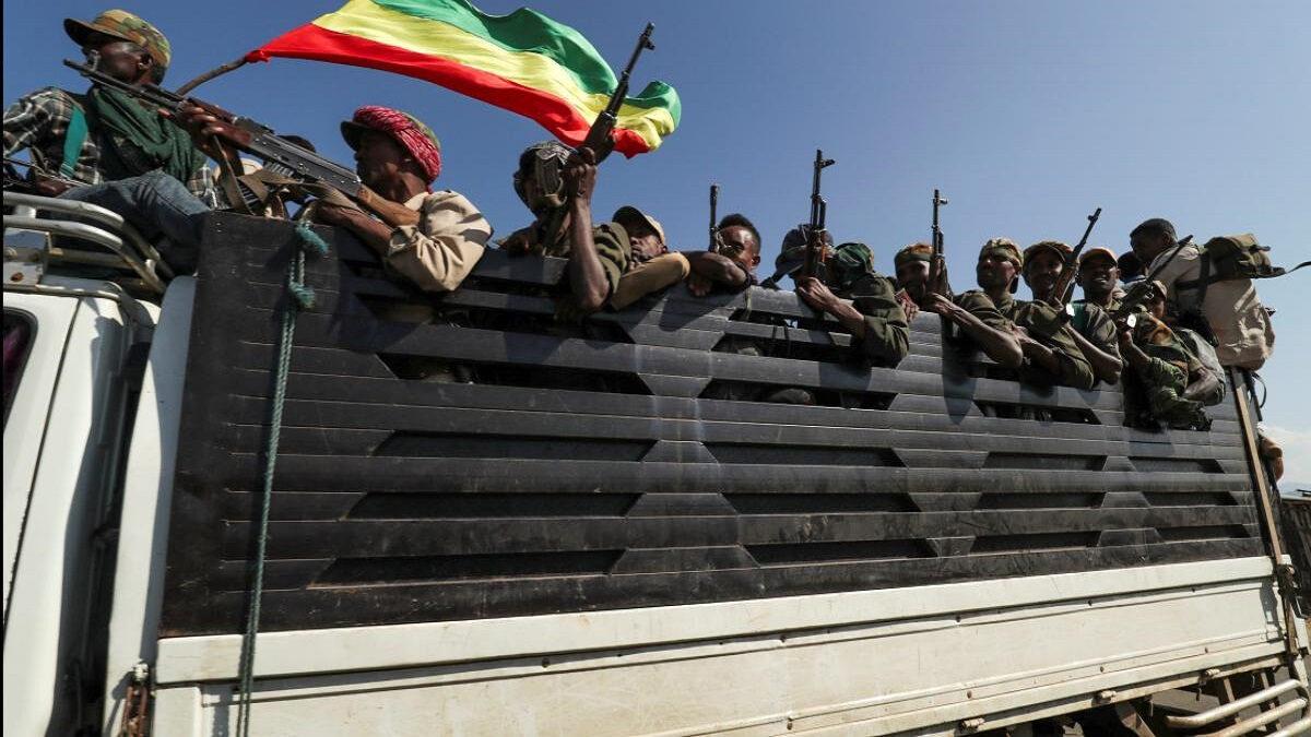 στρατιώτες της αιθιοπίας