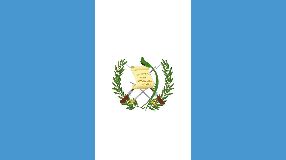 Σημαία Γουατεμάλα - Guatemala