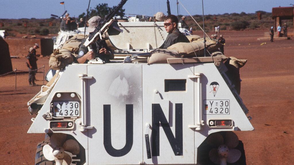 Γερμανικός Στρατός στη Σομαλία υπό τα χρώματα του ΟΗΕ