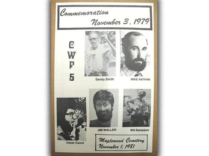 Δολοφονίες κομμουνιστών στο Γκρίνσμπορο 3/11/1979