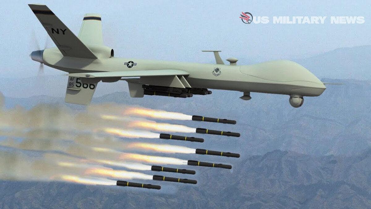 ΗΠΑ - Αμερικανικό τηλεκατευθυνόμενο βομβαρδιστικό MQ-9-Reaper