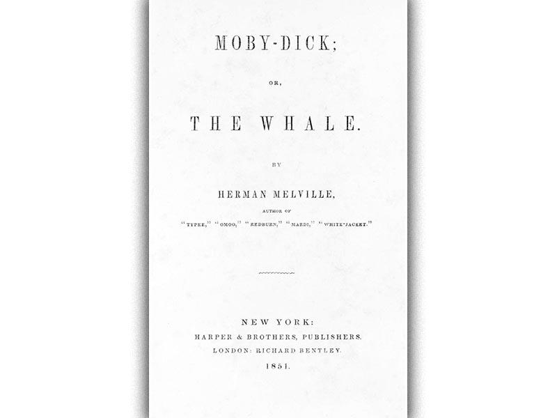 Χέρμαν Μέλβιλ - «Μόμπι Ντικ»