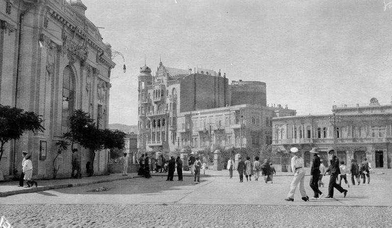 Λεωφόρος Neftchiler, στο Μπακού μετά την επικράτηση της επανάστασης 1920