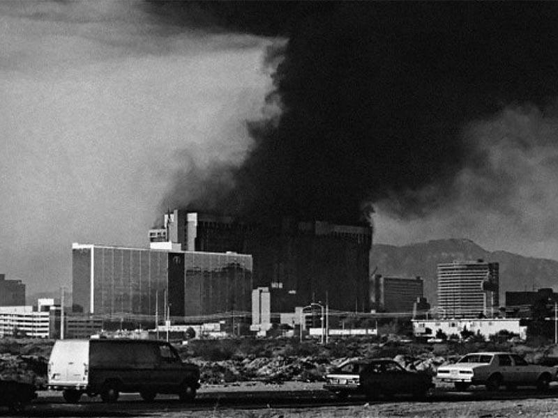 Πυρκαγιά σε ξενοδοχείο στη Νεβάδα το 1980