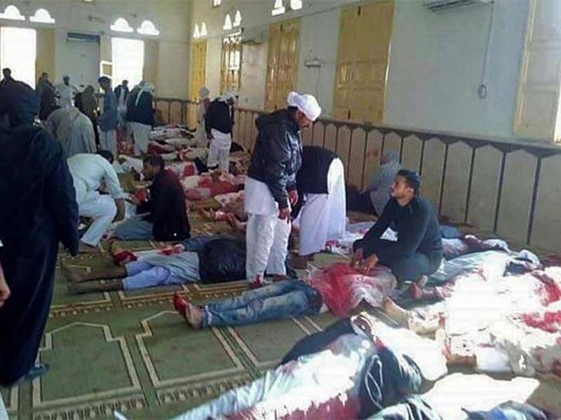 Τρομοκρατική επίθεση του Ισλαμικού Κράτους σε τέμενος στο Βόρειο Σινά