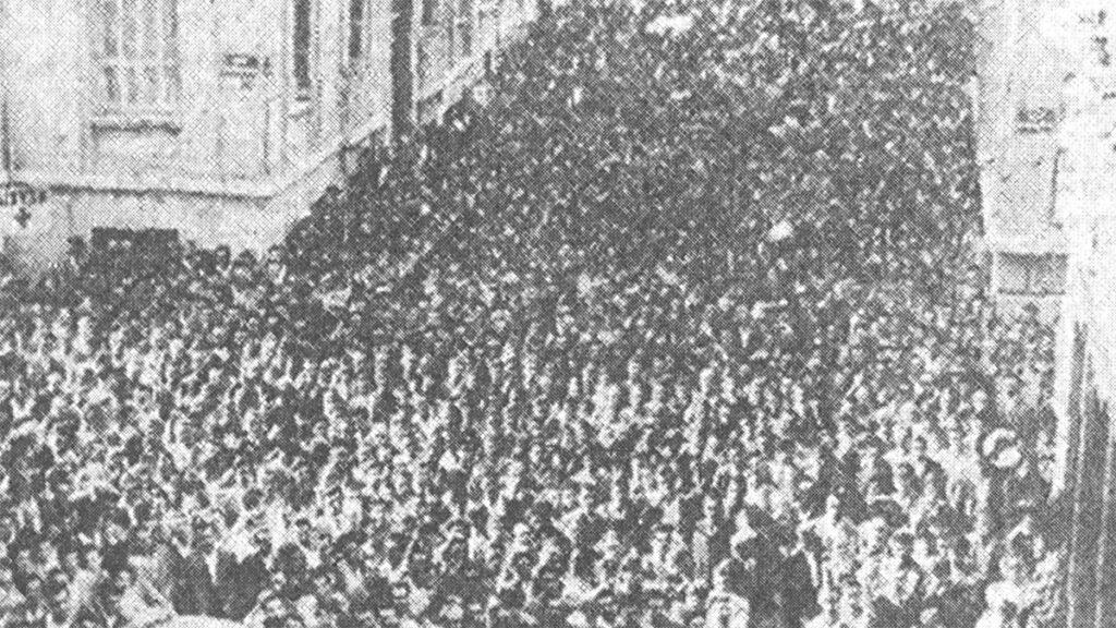 Απεργία οικοδόμων το 1960