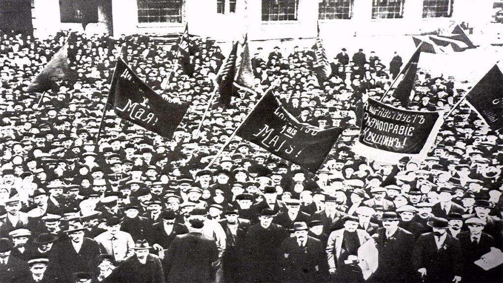 Η Μεγάλη Οκτωβριανή Σοσιαλιστική Επανάσταση το 1917