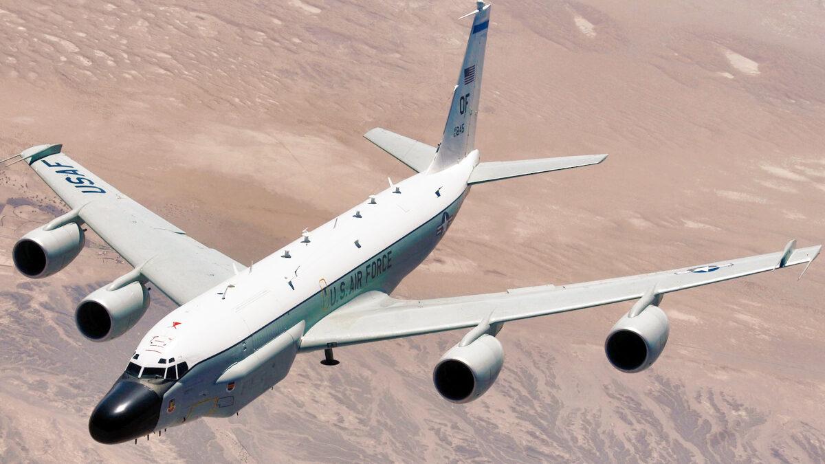 Κατασκοπευτικό αεροπλάνο των ΗΠΑ RC-135