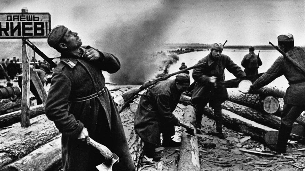 Κόκκινος Στρατός - απελευθέρωση Κιέβου 1943
