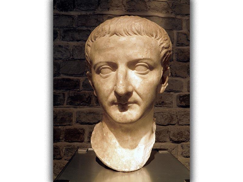 Ο Ρωμαίος αυτοκράτορας Τιβέριος