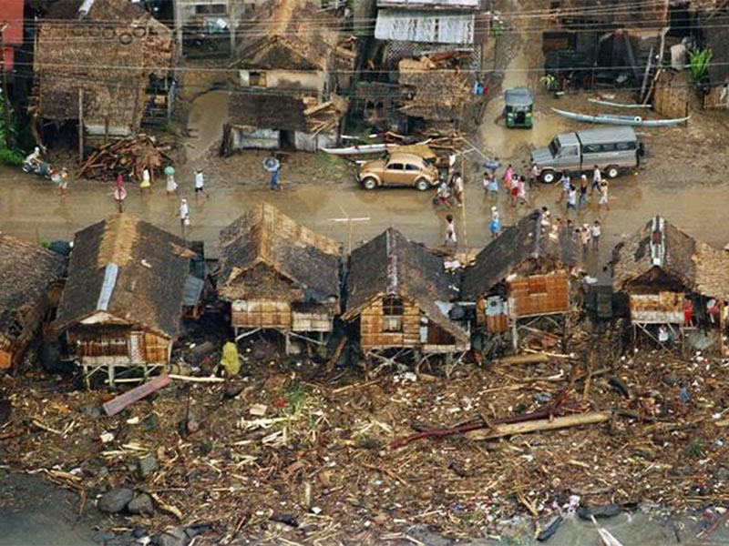 Κυκλώνας «Θέλμα» στις Φιλιππίνες το 1991