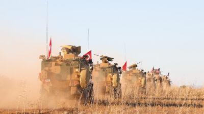 Στρατεύματα Τουρκίας και ΗΠΑ στη Συρία