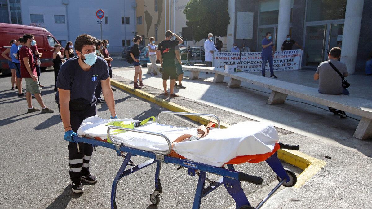 Διαμαρτυρία Ένωσης Νοσοκομειακών Ιατρών Θεσσαλονίκης στο Νοσοκομείο ΑΧΕΠΑ