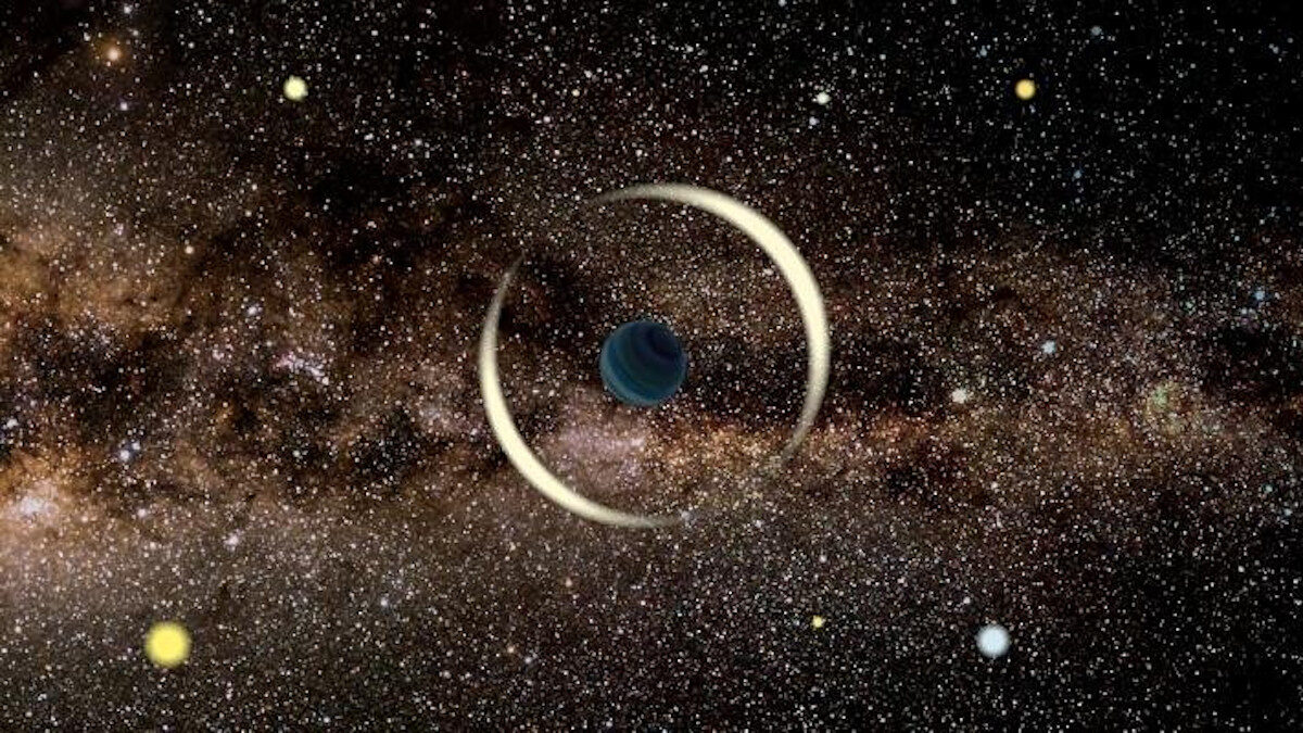 μικρός εξωπλανήτης βρέθηκε να πλανάται στο γαλαξία μας